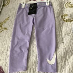 "NWT Nike ""Dry Fit"" Toddler Leggings (3T)."